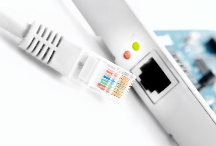 Router weiß