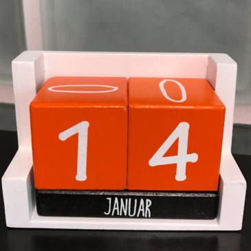 Kalender 14. Januar