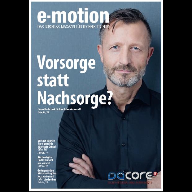 Kundenmagazin 02/2018 daCore IT